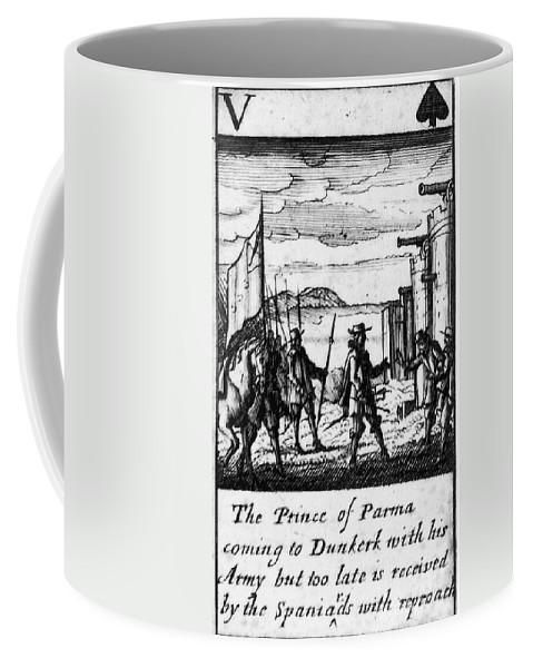 1588 Coffee Mug featuring the photograph Spanish Armada, 1588 by Granger