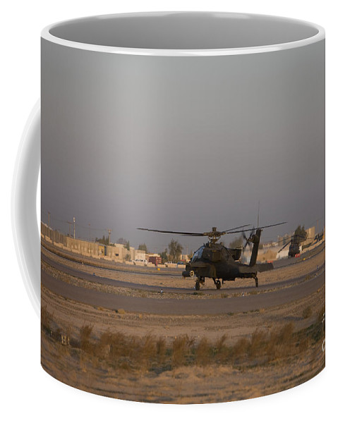 Aircraft Coffee Mug featuring the photograph An Ah-64d Apache Longbow Block IIi by Terry Moore
