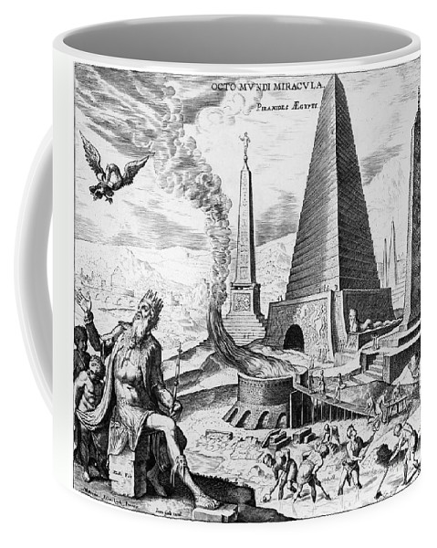 1638 Coffee Mug featuring the photograph Egypt: Cheops Pyramid by Granger