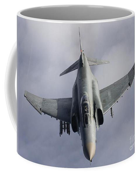 Germany Coffee Mug featuring the photograph Luftwaffe F-4f Phantom II by Gert Kromhout