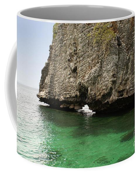 South East Asia Coffee Mug featuring the digital art Ko Rok by Carol Ailles