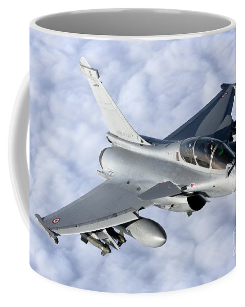 Evreux Coffee Mug featuring the photograph Dassault Rafale B Of The French Air by Gert Kromhout