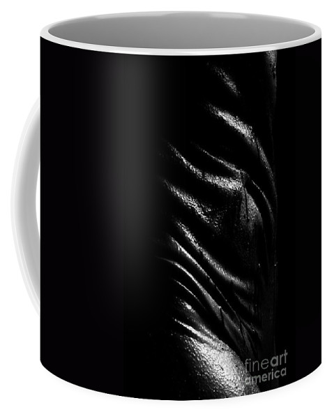 Nude Photographs Coffee Mug featuring the photograph Liquid Latex by Pavel Jelinek