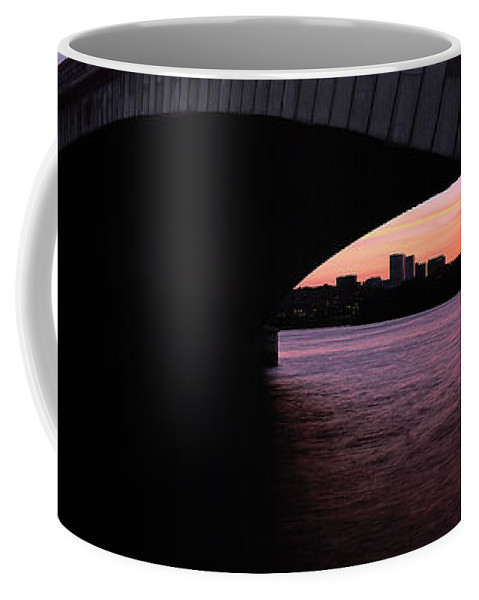 Rossalyn Coffee Mug featuring the photograph A Bridge To Rossalyn by Mike Nellums