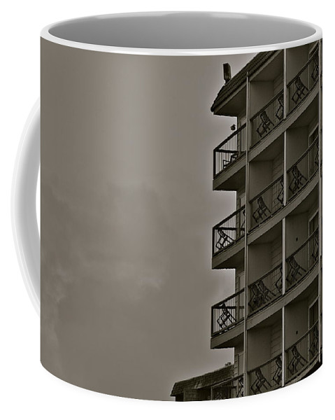 Hotel Coffee Mug featuring the photograph A Certain Order by Eric Tressler