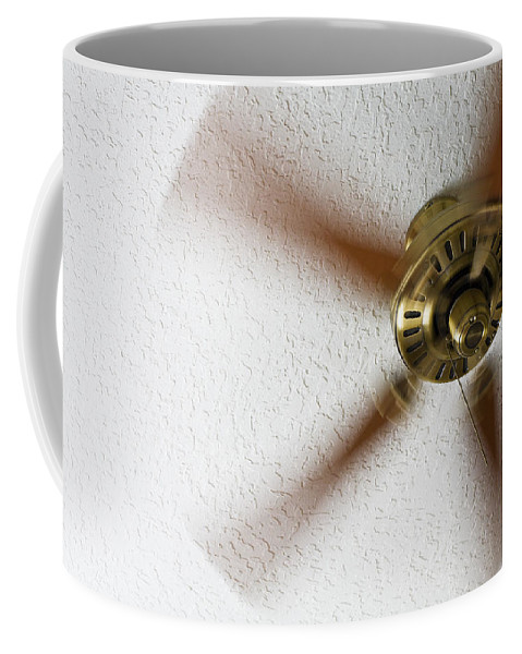 Electricity Coffee Mug featuring the photograph A Cooling Breeze by Diane Macdonald