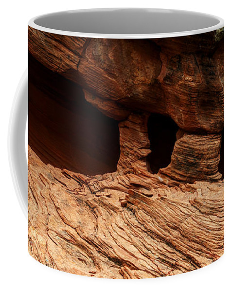Arch Coffee Mug featuring the photograph A Double Arch by Vivian Christopher