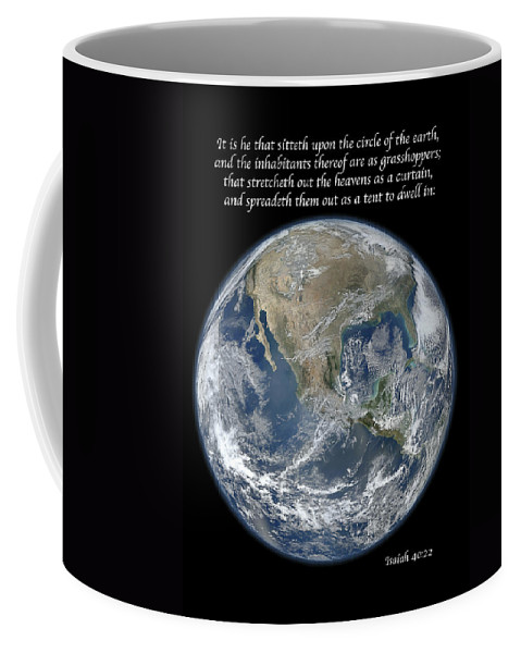 Earth Coffee Mug featuring the photograph A Higher View by Michael Peychich