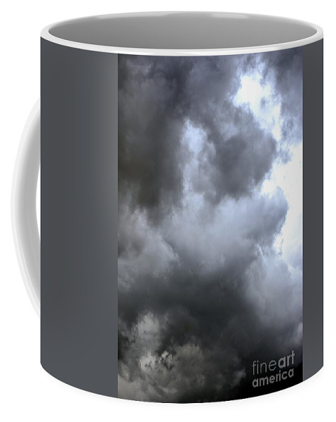 June Coffee Mug featuring the photograph A June Storm by Maria Urso