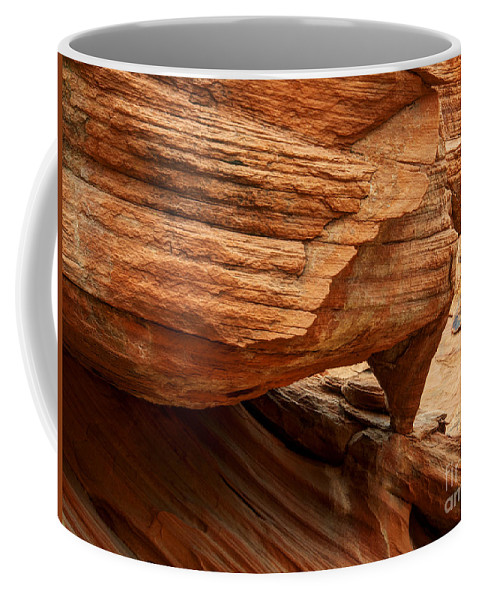 Arch Coffee Mug featuring the photograph A Little Arch by Vivian Christopher