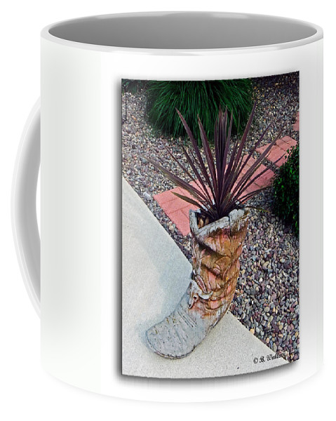 A Little Bit Country Coffee Mug featuring the photograph A Little Bit Country by Brian Wallace