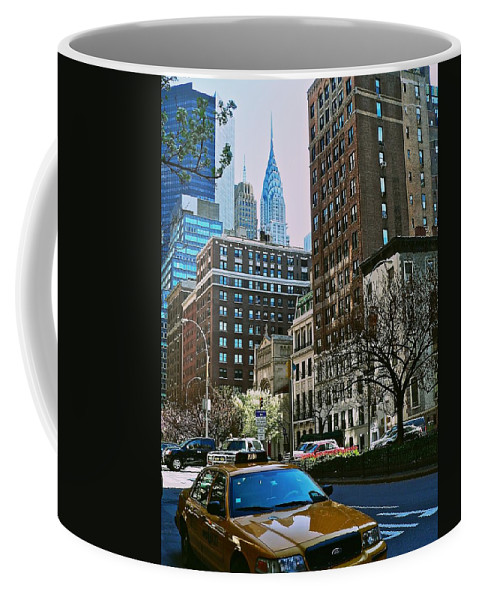 New York City Coffee Mug featuring the photograph A Little Slice Of New York by Eric Tressler