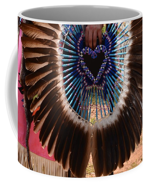 Indian Coffee Mug featuring the photograph A Loving People by Maria Urso