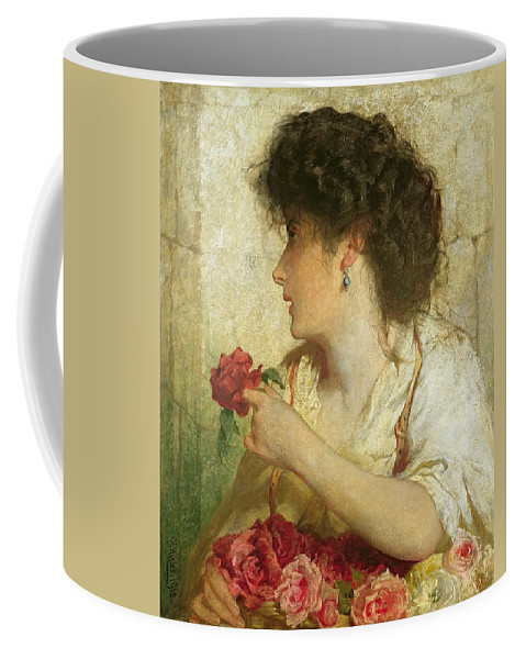 Xyc283582 Coffee Mug featuring the photograph A Military Escapade by Thomas Rowlandson