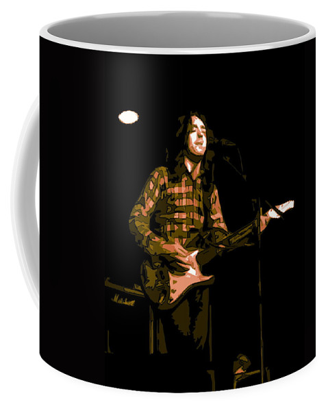Rock Musicians Coffee Mug featuring the photograph A Million Blue Miles Away 3 by Ben Upham
