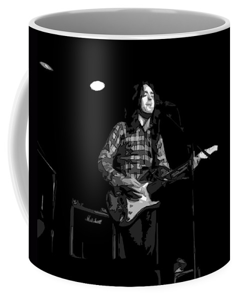 Rock Musicians Coffee Mug featuring the photograph A Million Miles Away by Ben Upham