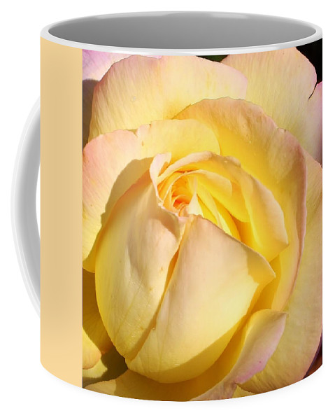 Flora Coffee Mug featuring the photograph A Peace Of Beauty by Bruce Bley