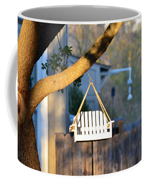 Perch Coffee Mug featuring the photograph A Place To Perch by Nikki Marie Smith