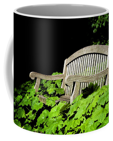 A Place To Rest Coffee Mug featuring the photograph A Place To Rest by Bill Cannon