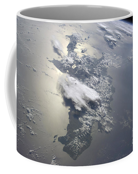 Horizontal Coffee Mug featuring the photograph A Serene View Of A Portion by Stocktrek Images