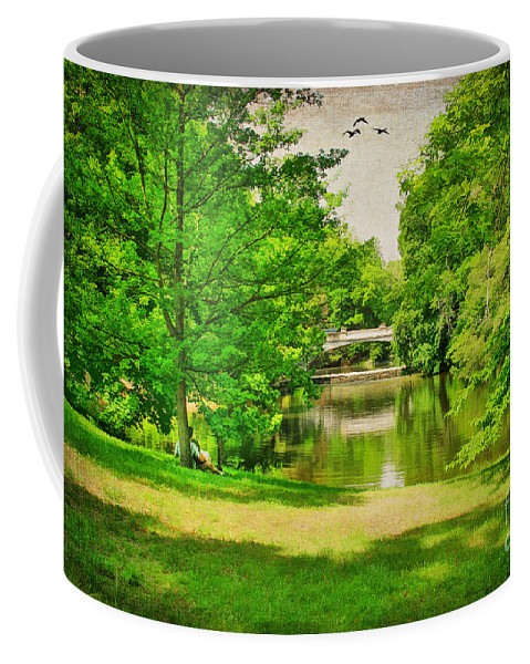 Arch Coffee Mug featuring the photograph A Summer's Day by Darren Fisher
