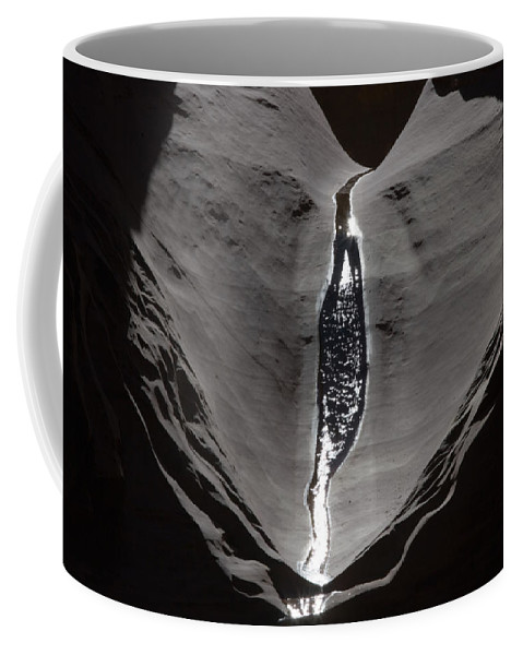 Outdoors Coffee Mug featuring the photograph A Trickle Of Water Glistening by Michael Nichols