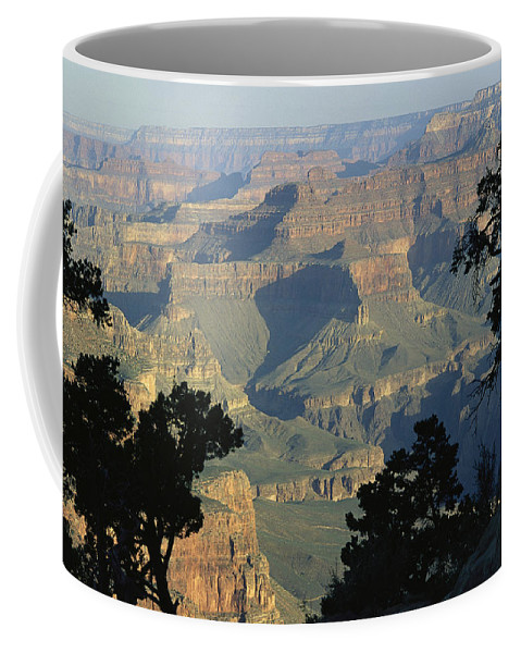 North America Coffee Mug featuring the photograph A View Of The Grand Canyon by Bill Hatcher