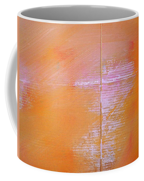 Line Coffee Mug featuring the painting A View Of The Line by Charles Stuart