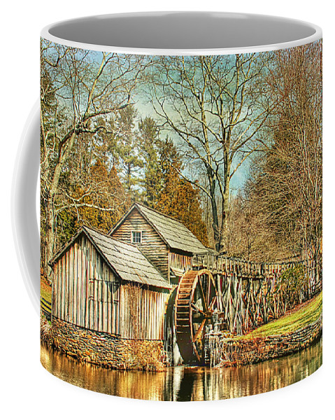 Antique Coffee Mug featuring the photograph A Winters Day by Darren Fisher