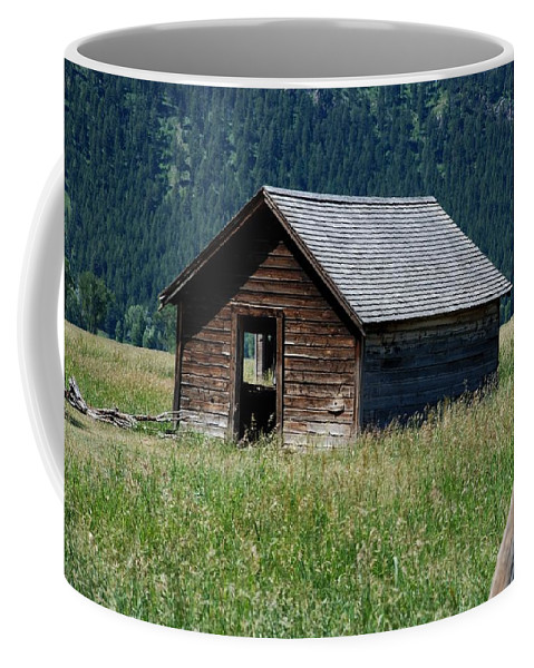 Nature Coffee Mug featuring the photograph Abandoned Barn by Dany Lison