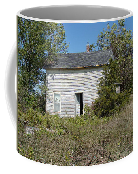 Abandoned Coffee Mug featuring the photograph Abandoned by Bonfire Photography