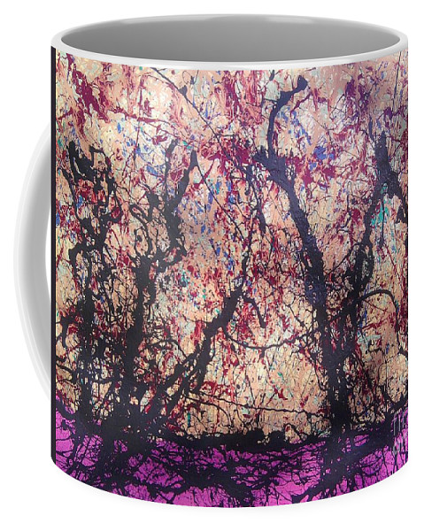 Coffee Mug featuring the painting Afri-spiritus Sembler by Meroe Rei