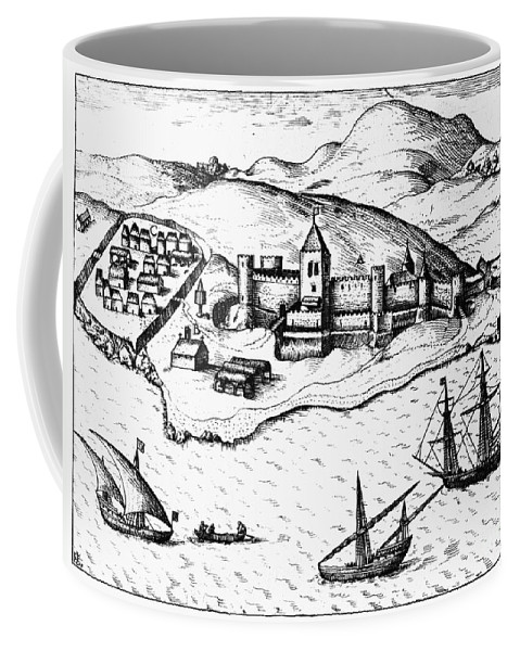 1482 Coffee Mug featuring the photograph Africa: Portuguese Fort by Granger