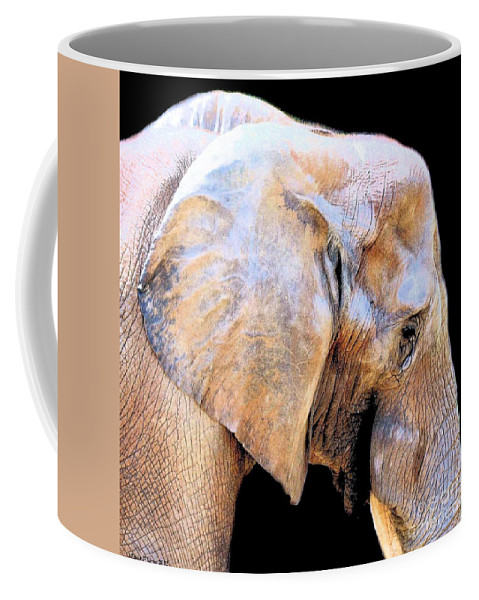 African Babe Coffee Mug featuring the photograph African Babe by Maria Urso