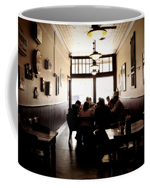 Interior Design Coffee Mug featuring the photograph After Sunday Services by Paulette B Wright