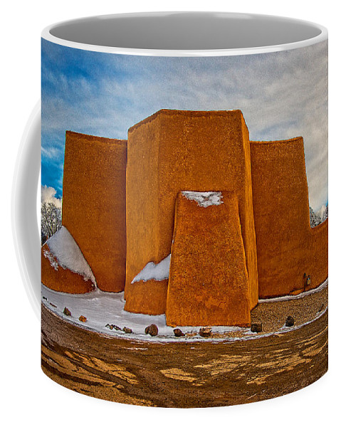 San Coffee Mug featuring the digital art After The Storm - Classic View by Charles Muhle