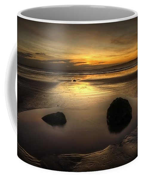 Bay Coffee Mug featuring the photograph After Tide Out by Svetlana Sewell