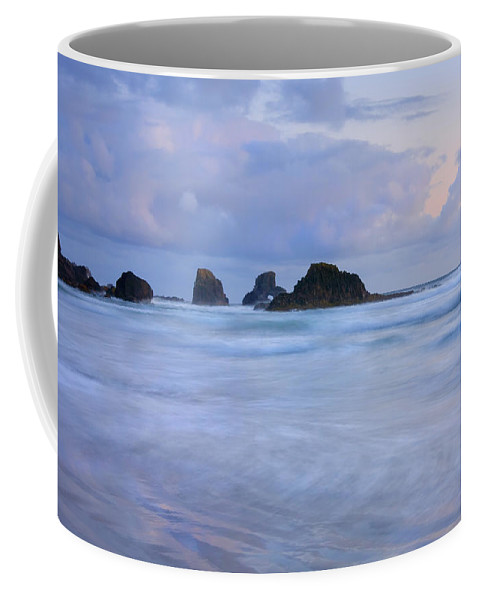 Tides Coffee Mug featuring the photograph Against The Tides by Mike Dawson