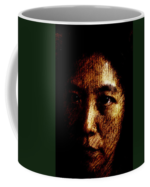 Ageless Coffee Mug featuring the painting Ageless by Christopher Gaston