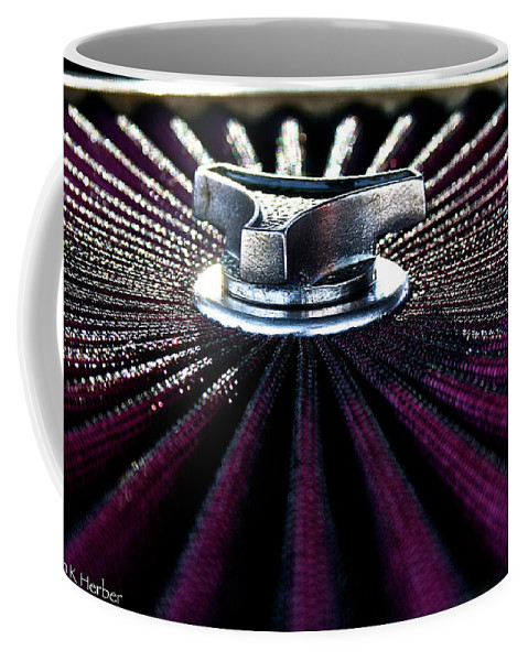 Auto Coffee Mug featuring the photograph Air Filter by Susan Herber