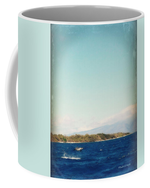 Nature Coffee Mug featuring the photograph Airborne by Paulette B Wright