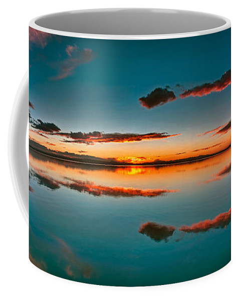 Albufera Lagoon Coffee Mug featuring the photograph Albufera Panoramic View. Spain by Juan Carlos Ferro Duque