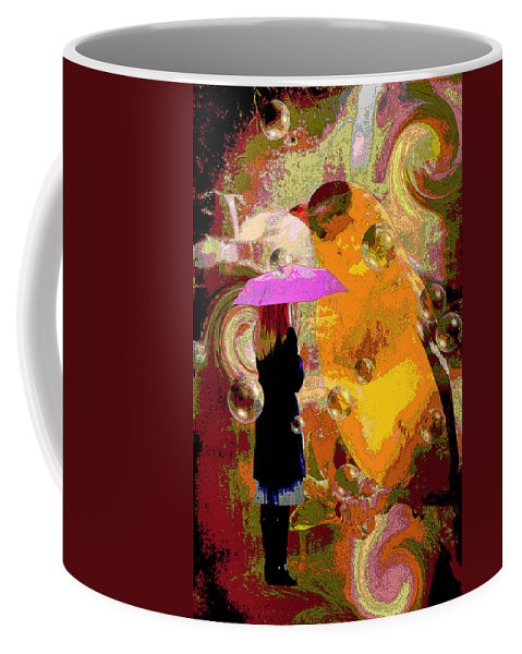 Alice's Adventures Coffee Mug featuring the photograph Alice's Adventures ... by Arthur Miller