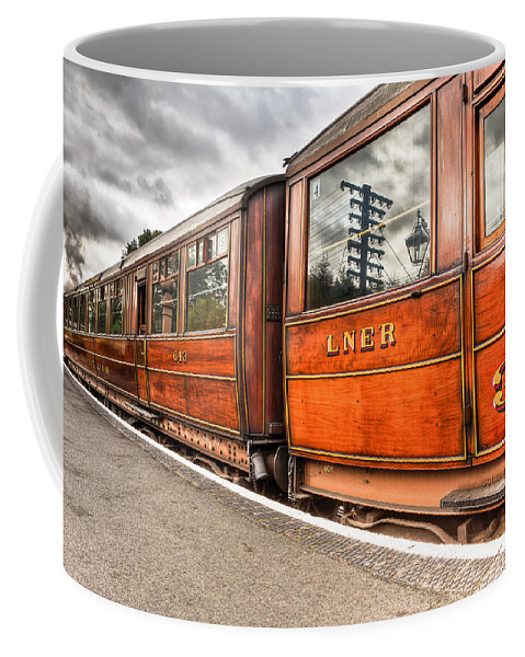 3rd Class Coffee Mug featuring the photograph All Aboard by Adrian Evans