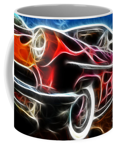All American Hot Rod Coffee Mug featuring the photograph All American Hot Rod by Paul Ward