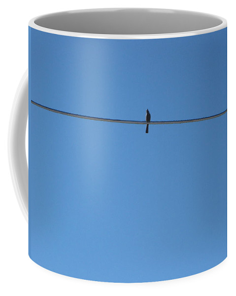 Bird Coffee Mug featuring the photograph Alone At Last by Kume Bryant