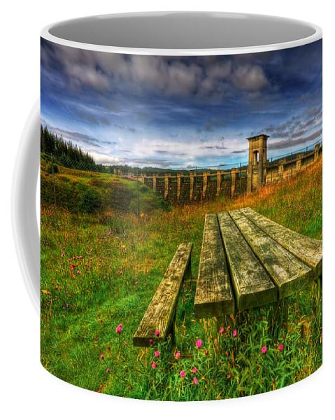 Alwen Coffee Mug featuring the photograph Alwen Reservoir by Adrian Evans