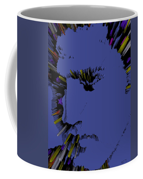 Elvis Coffee Mug featuring the photograph Amazing Grace And Elvis by Robert Margetts