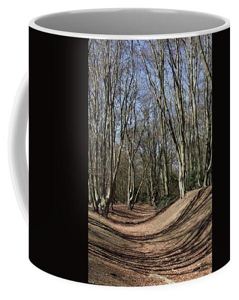 Ambresbury Coffee Mug featuring the photograph Ambresbury Banks Bronze Age Fortification by David Pyatt