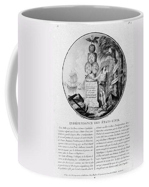 1786 Coffee Mug featuring the photograph American Independence by Granger